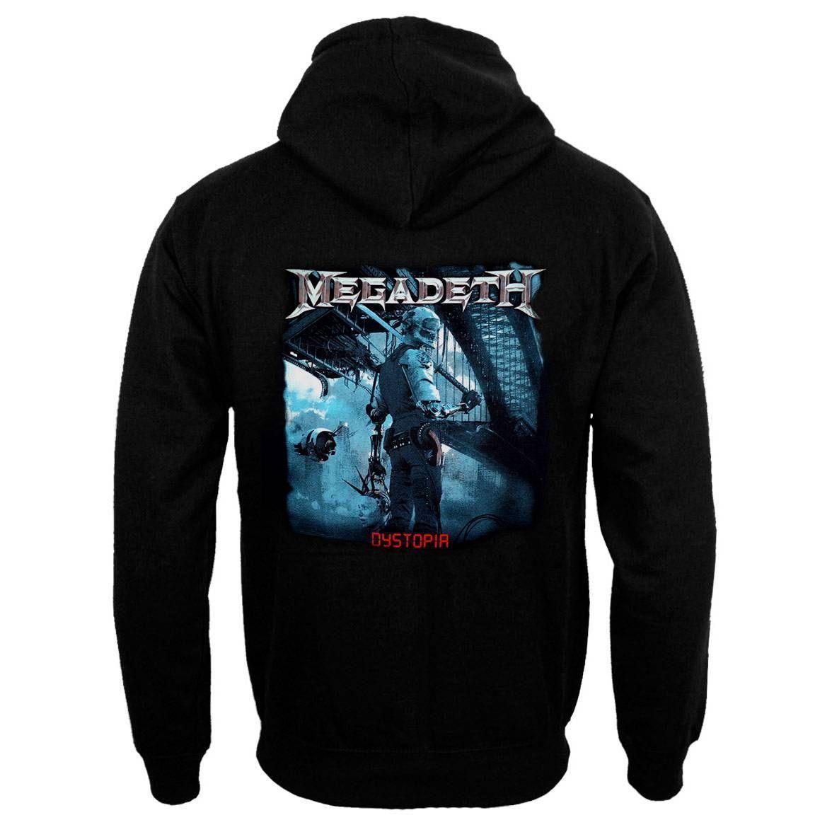 Moletom Megadeth Dystopia - Metrópole do Rock