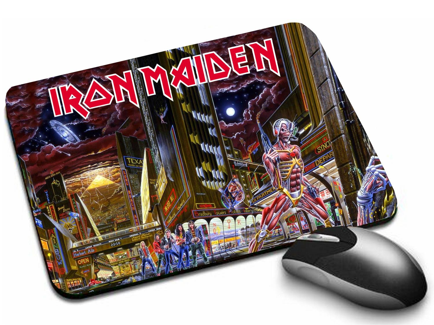 Mousepad Iron Maiden Somewhere Back In Time