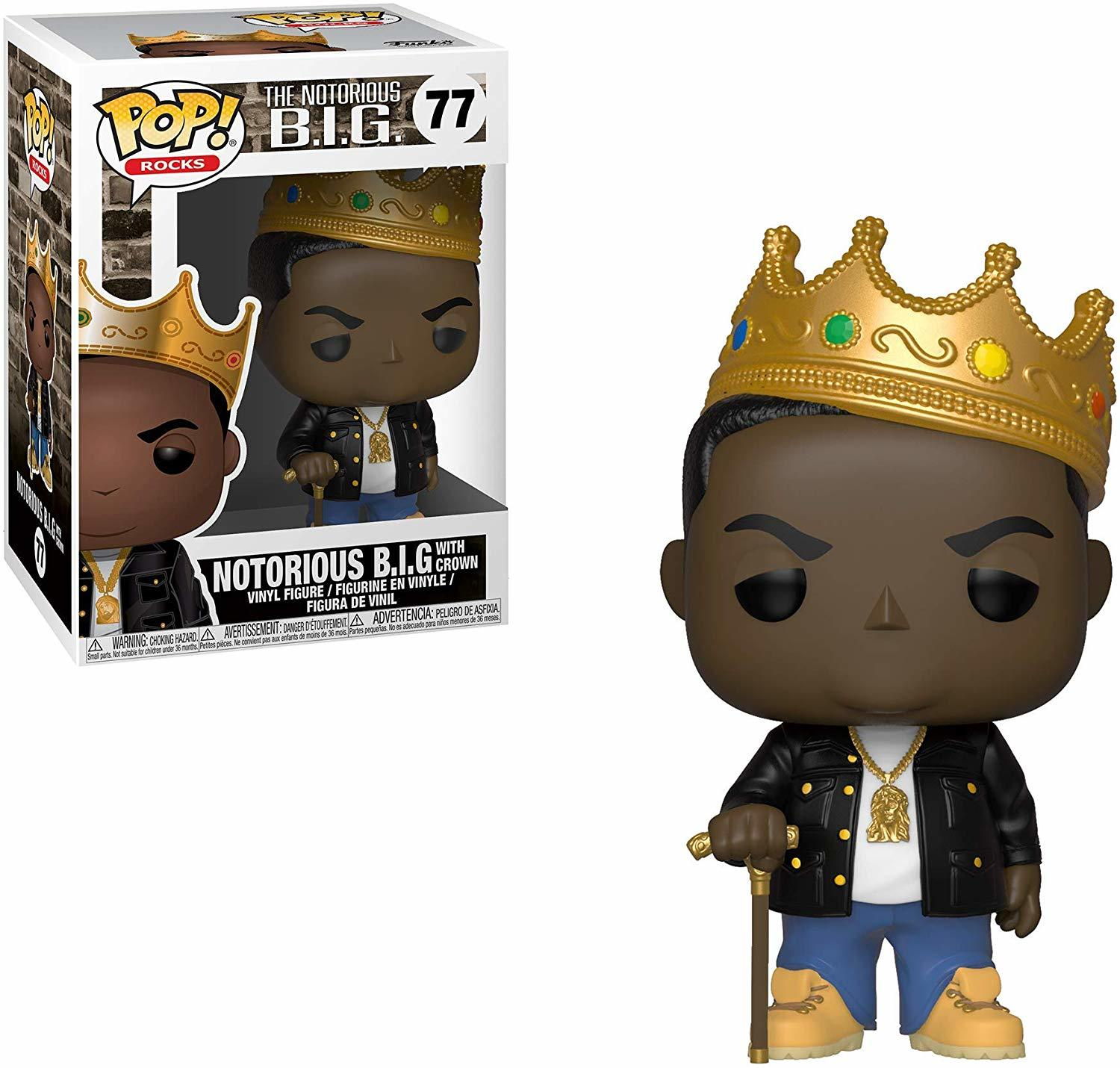 Notorious BIG with Crown