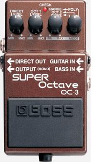 Pedal para Guitarra Boss OC-3 Super Octave