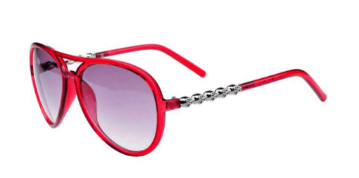 Óculos de Sol Caveira Juquehy Vermelho – SkullAchando