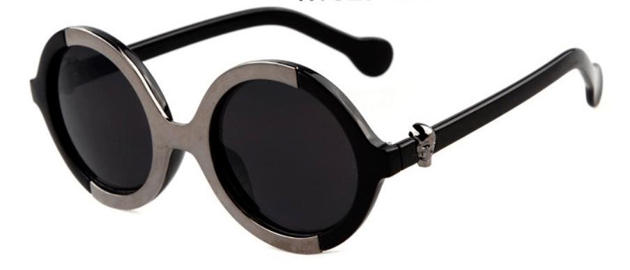 Óculos de Sol Caveira Ubatuba Redondo – SkullAchando