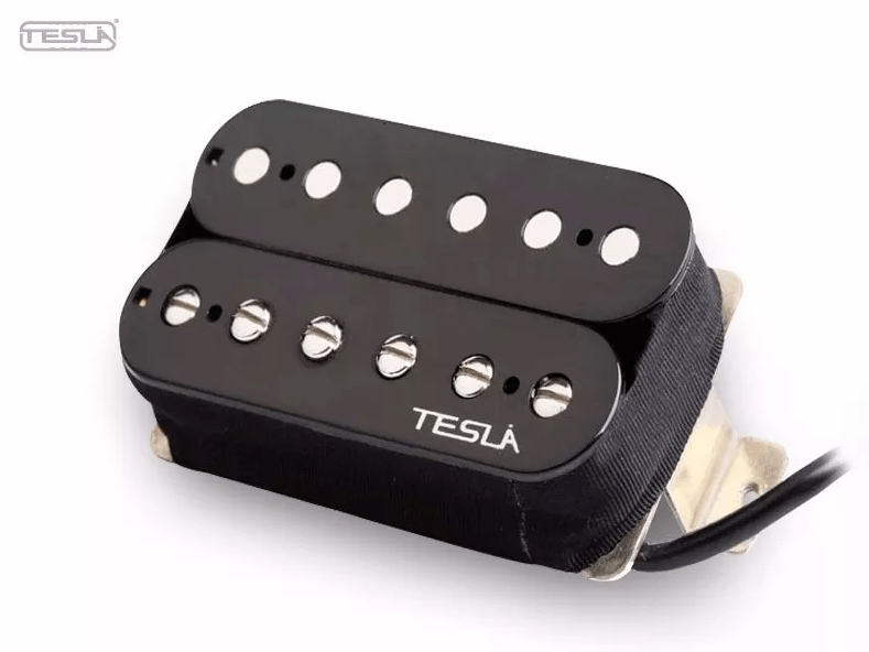 Par De Captador Tesla Vr-3 (vintage Black Set)