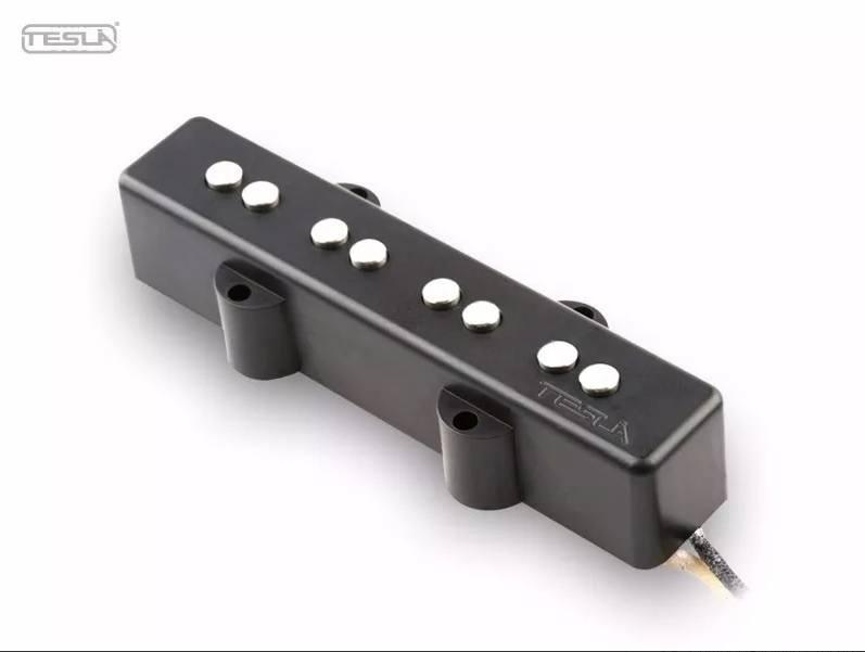 Par de Captador Tesla VR-B4 Jazz Bass + VR-B3 Precision