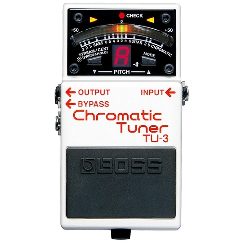Pedal para Guitarra Afinador Boss TU-3 Cromático