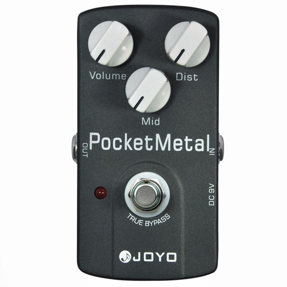 Pedal Guitarra Joyo Pocket Metal - Arizy