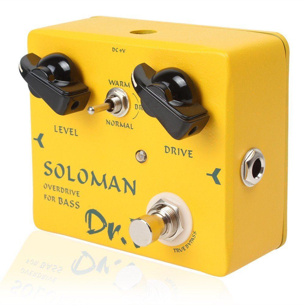 Pedal Joyo Soloman Bass Overdrive - Arizy