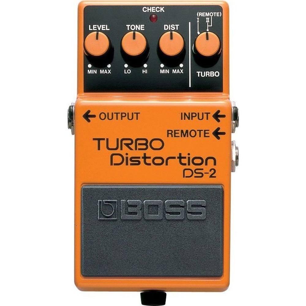 Pedal para Guitarra Distorção Boss DS-2 Turbo Distortion