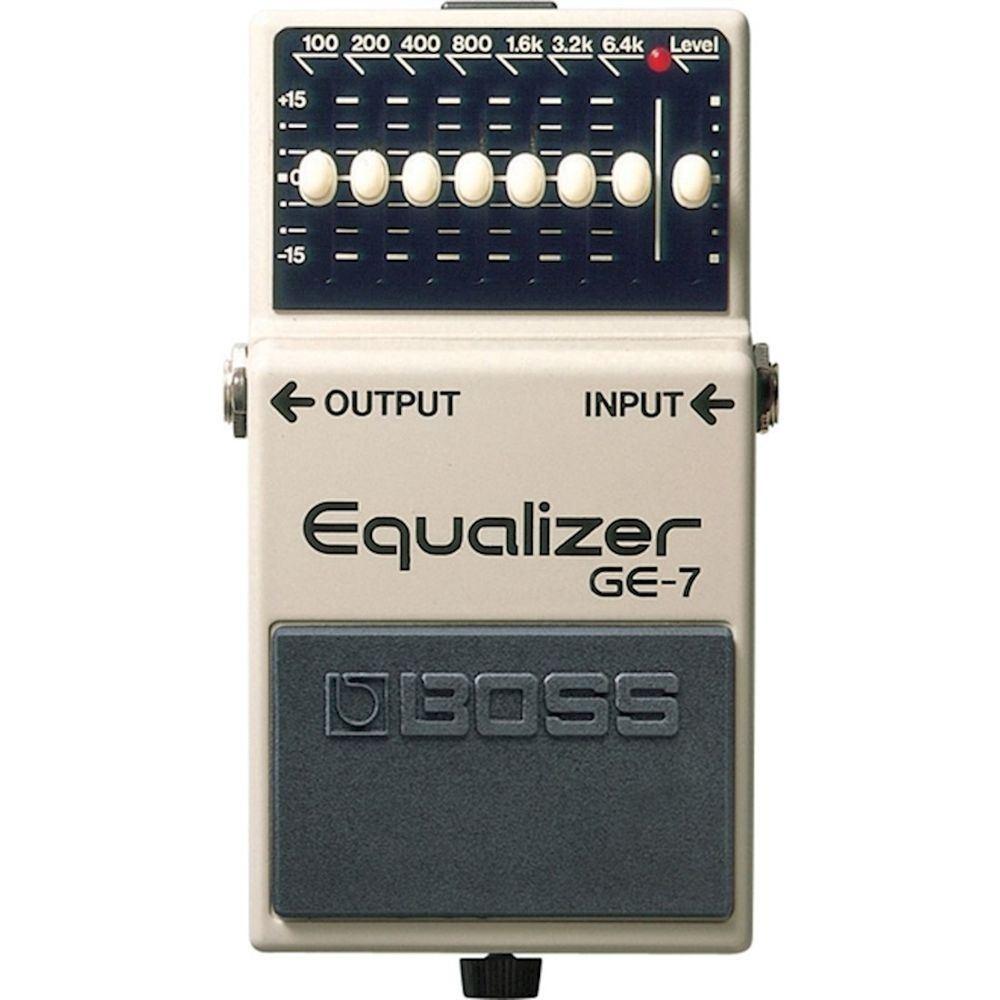 Pedal pedal Guitarra Boss GE-7 Equalizer