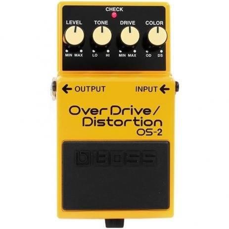 Pedal para Guitarra Boss OS-2 Over Drive