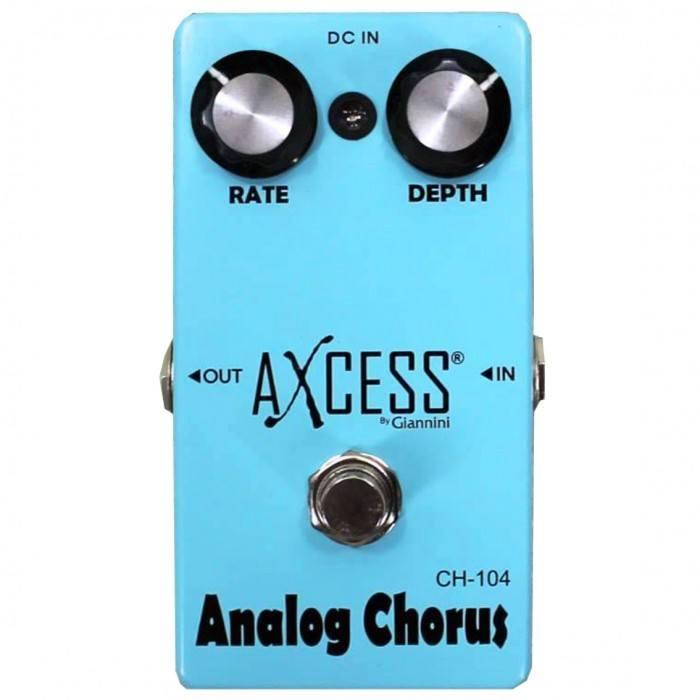 Pedal para guitarra Giannini Axcess Chorus CH-104