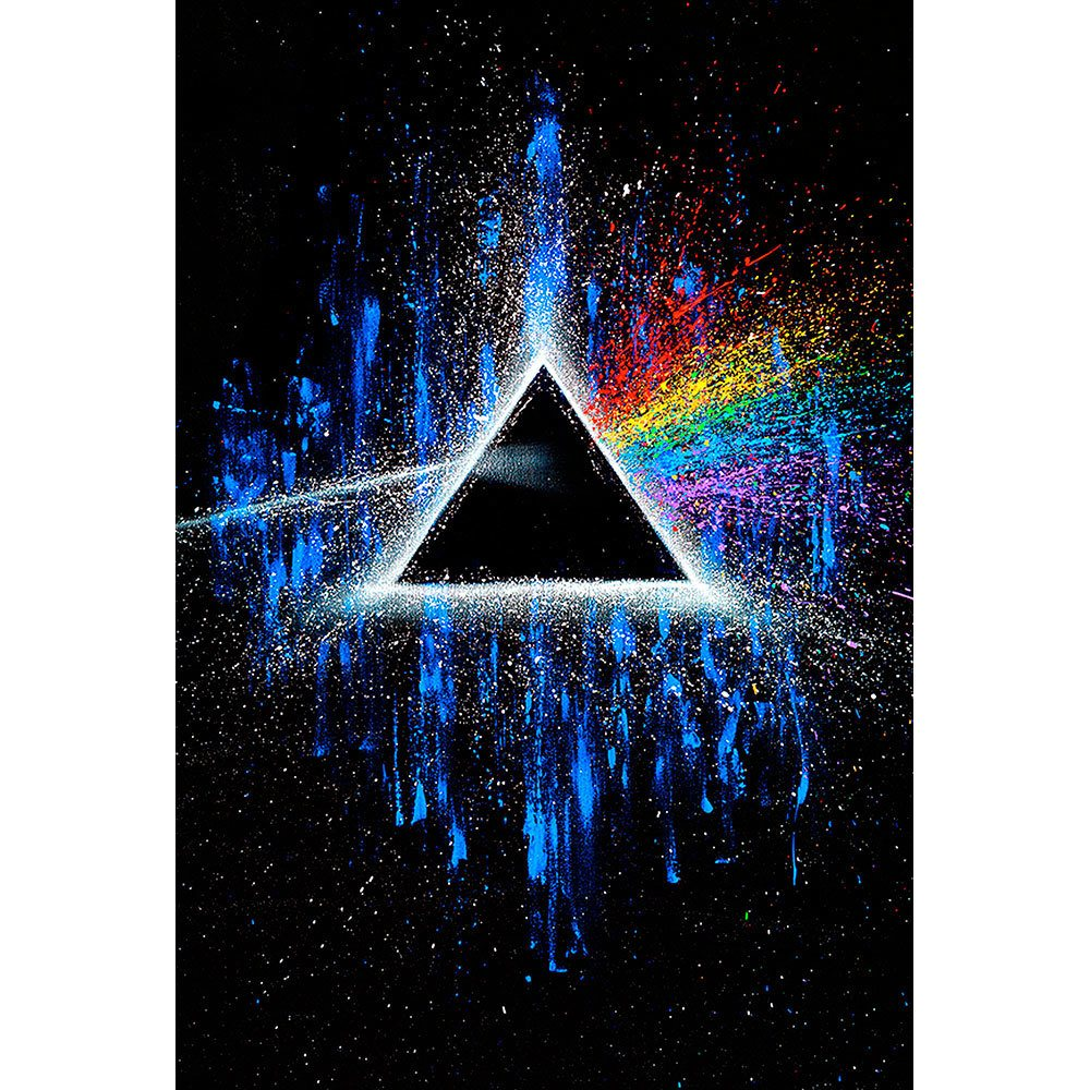 Placa Decorativa Planeta Decor Pink Floyd