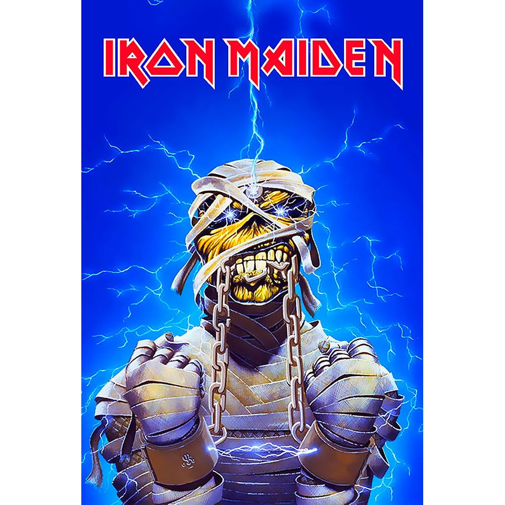 Placa Decorativa Planeta Decor Iron Maiden