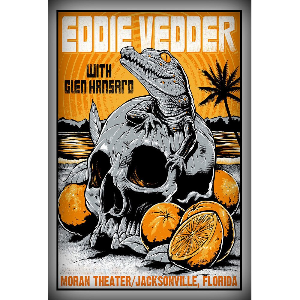 Placa Decorativa Planeta Decor Eddie Vedder