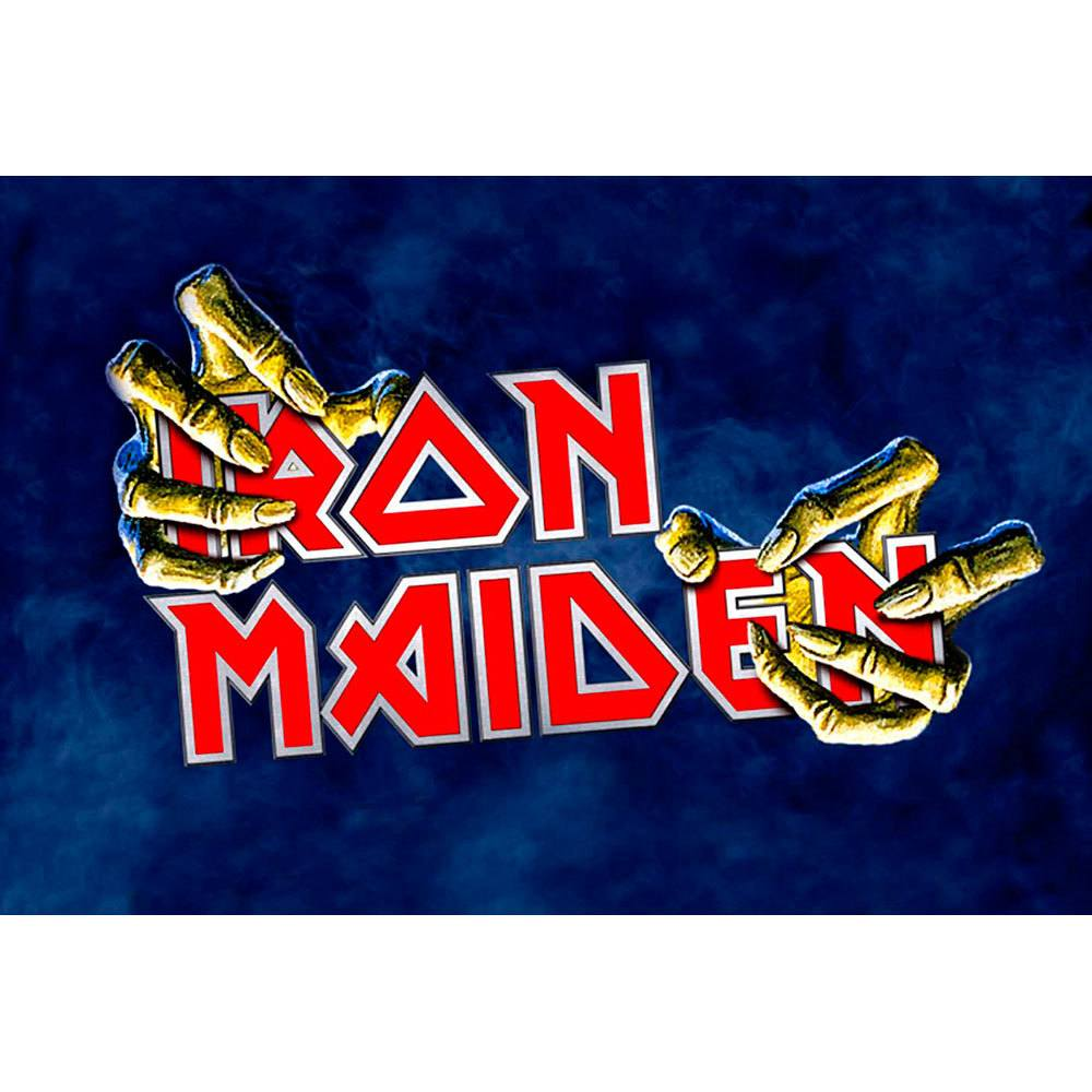 Placa Decorativa Planeta Decor Iron Maiden
