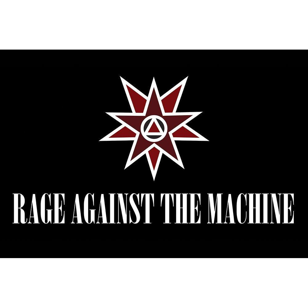 Placa Decorativa Planeta Decor Rage Against The Machine