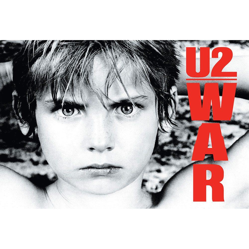 Placa Decorativa Planeta Decor U2 War