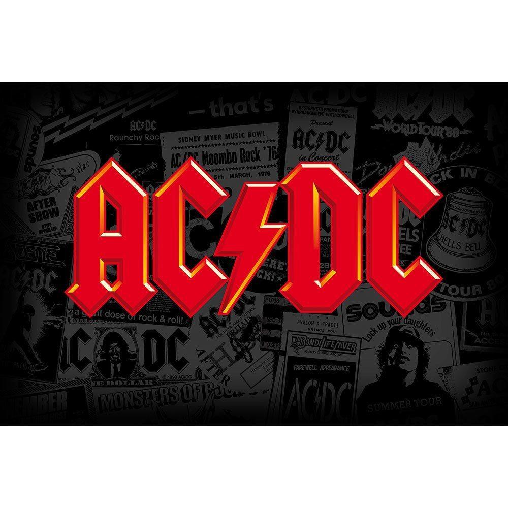 Placa Decorativa Planeta Decor AC/DC