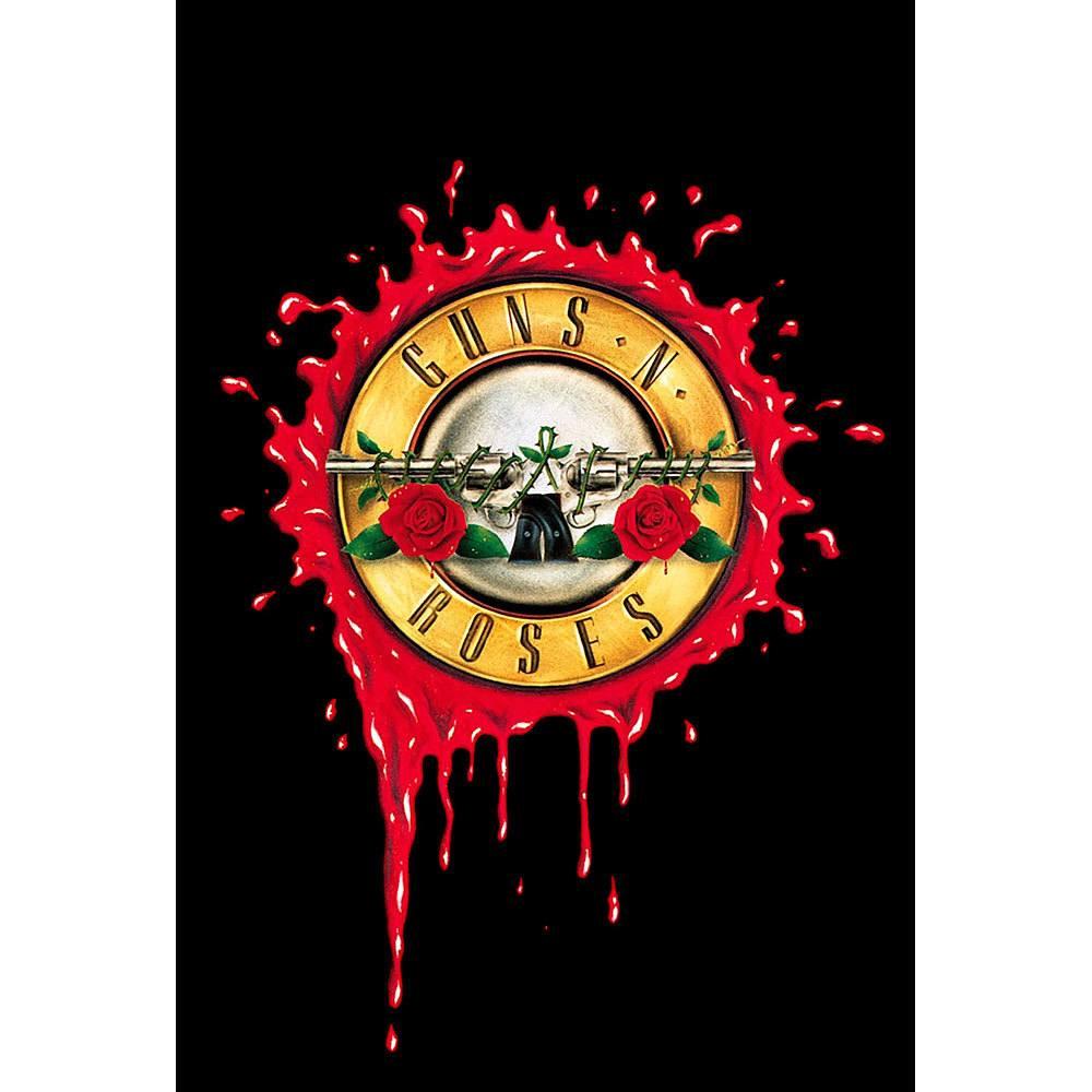 Placa Decorativa Planeta Decor Guns n' Roses