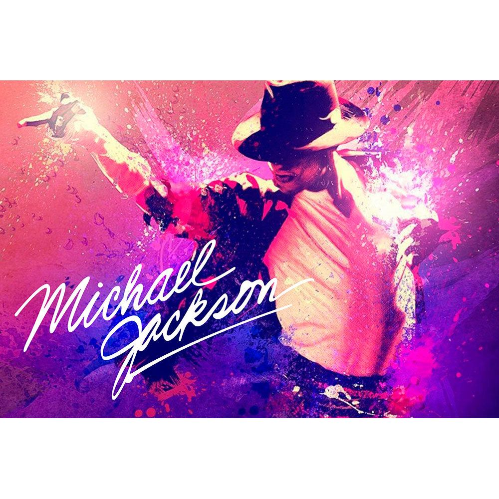 Placa Decorativa Planeta Decor Michael Jackson