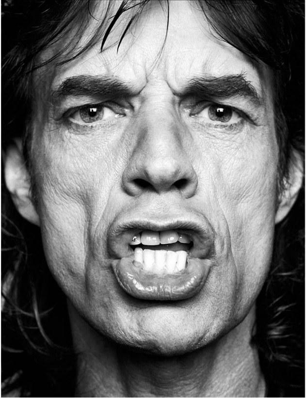 Poster em Papel Mick Jagger – Rvalentim
