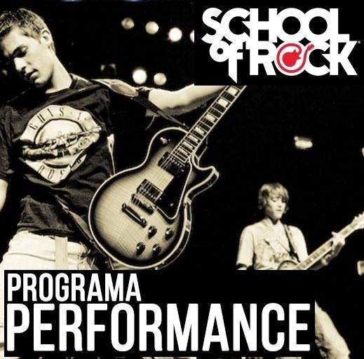 Programa Performance Program ( 12 a 17 anos) - School Of Rock