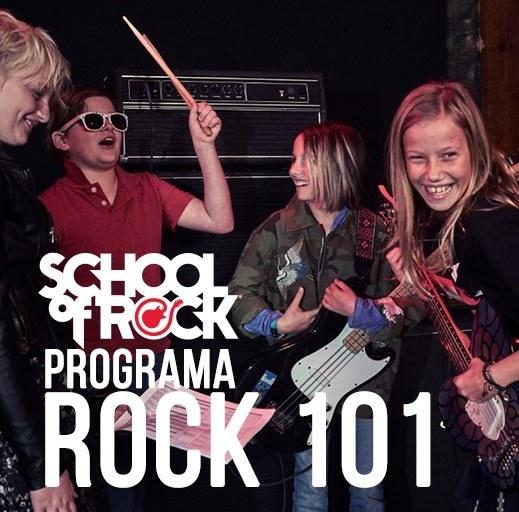 Programa Rock 101 (07 a 11 anos) - School Of Rock