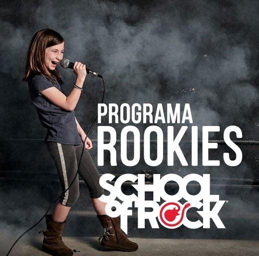 Programa Rookies (05 a 06 anos) - School Of Rock