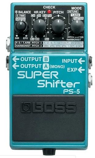 Pedal para Guitarra Boss PS-5 Super Shifter
