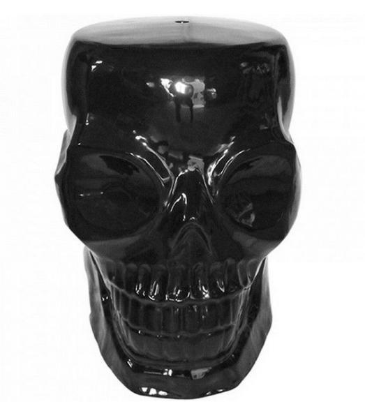 Pufe Skull Black – Rvalentim