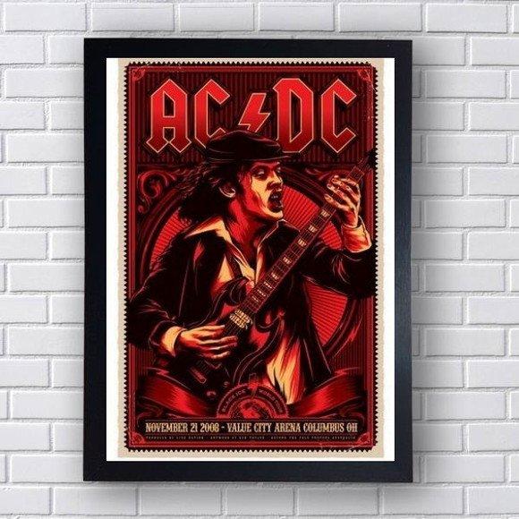Quadro Decorativo AC/DC I
