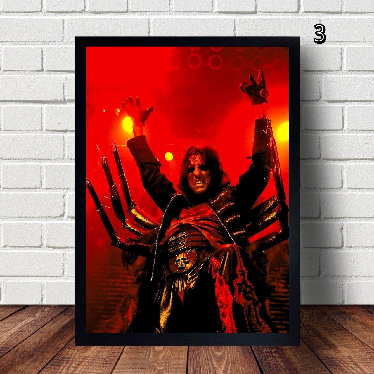 Quadro Decorativo Alice Cooper II