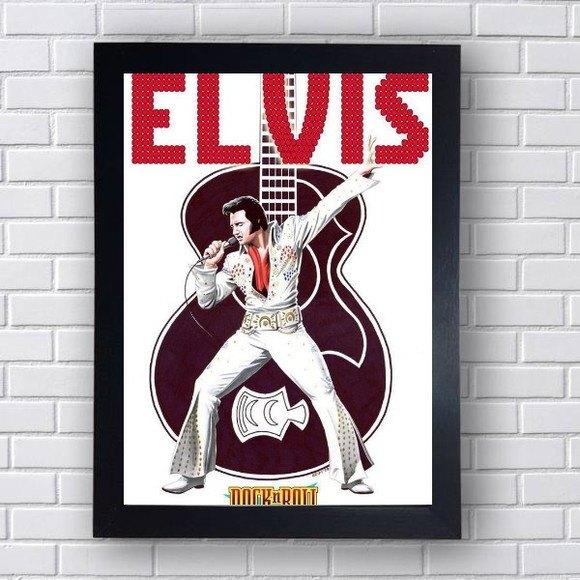 Quadro Decorativo Elvis V