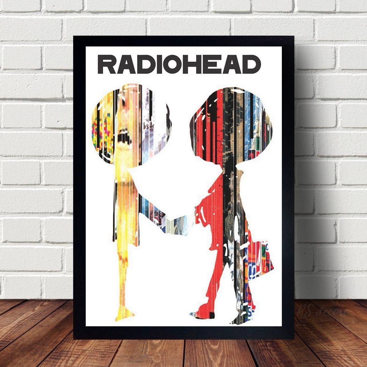 Quadro Decorativo Radiohead IX
