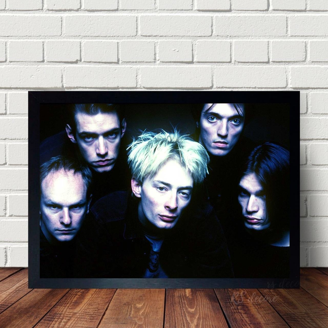 Quadro Decorativo Radiohead VIII