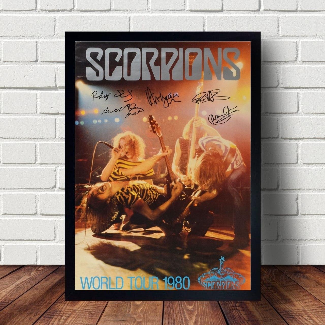Quadro Decorativo Scorpions IV
