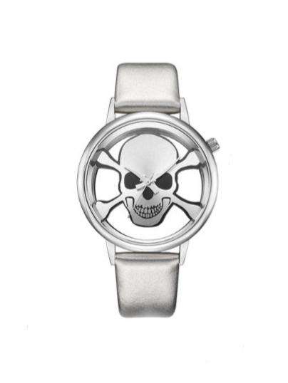 Relógio All Silver Skull II – SkullAchando