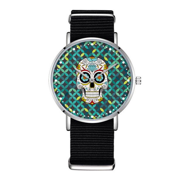 Relógio Caveira Mexicana - Coleção Étnico - SkullAchando