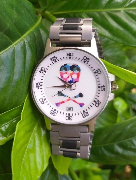 Relógio Caveira SK Colors - SkullAchando