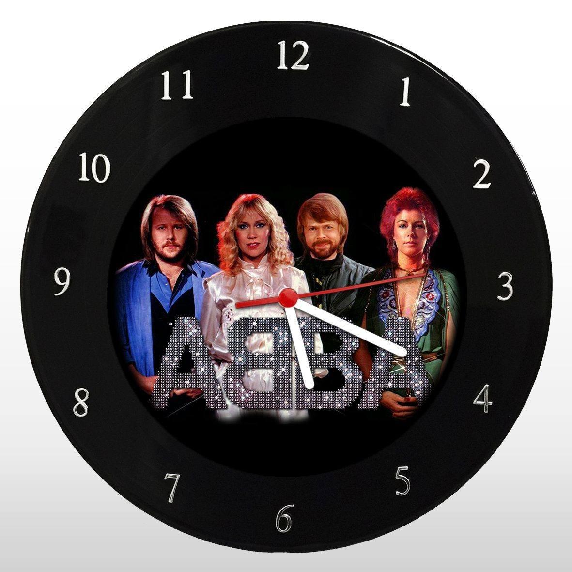 ABBA - Relógio de Parede em Disco de Vinil - Mr. Rock