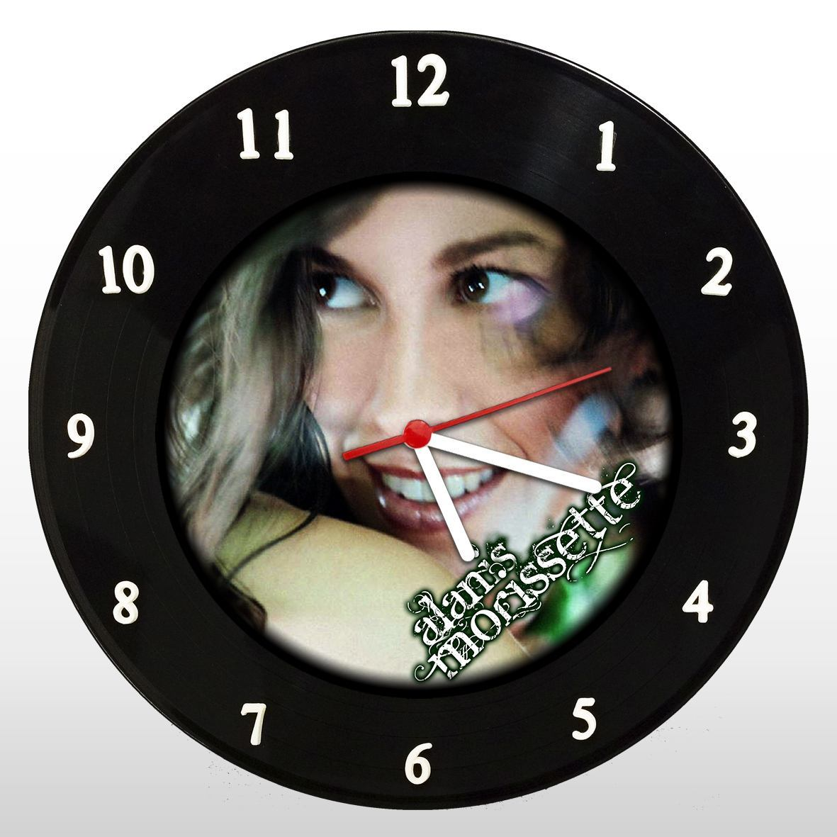 Alanis Morissette - Relógio de Parede em Disco de Vinil - Mr. Rock