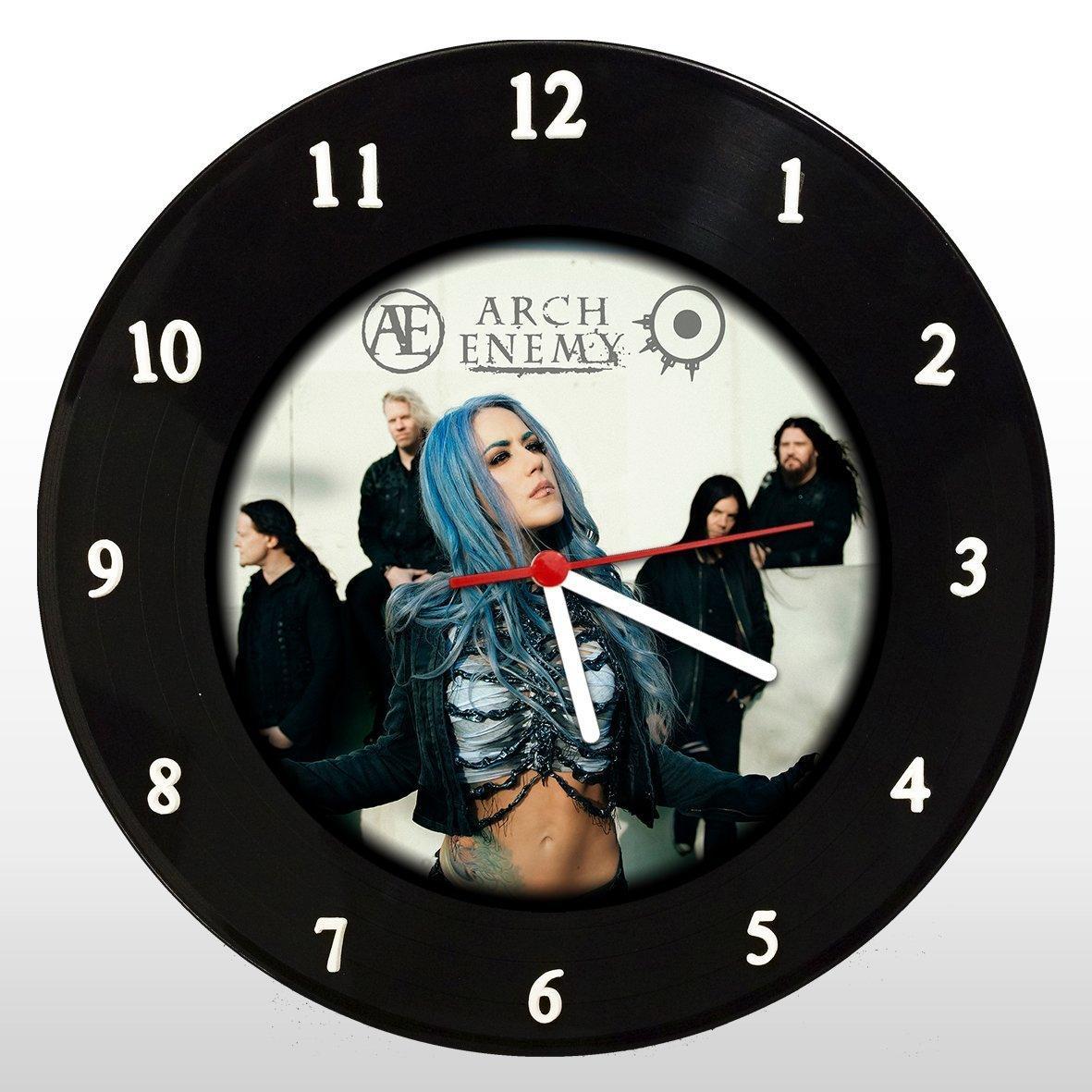 Arch Enemy - Relógio de Parede em Disco de Vinil - Mr. Rock