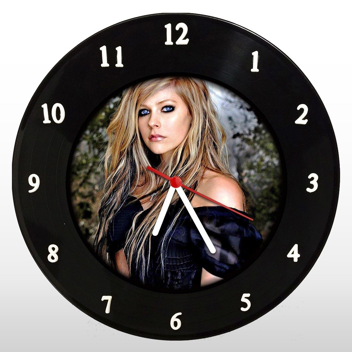 Avril Lavigne - Relógio de Parede em Disco de Vinil - Mr. Rock
