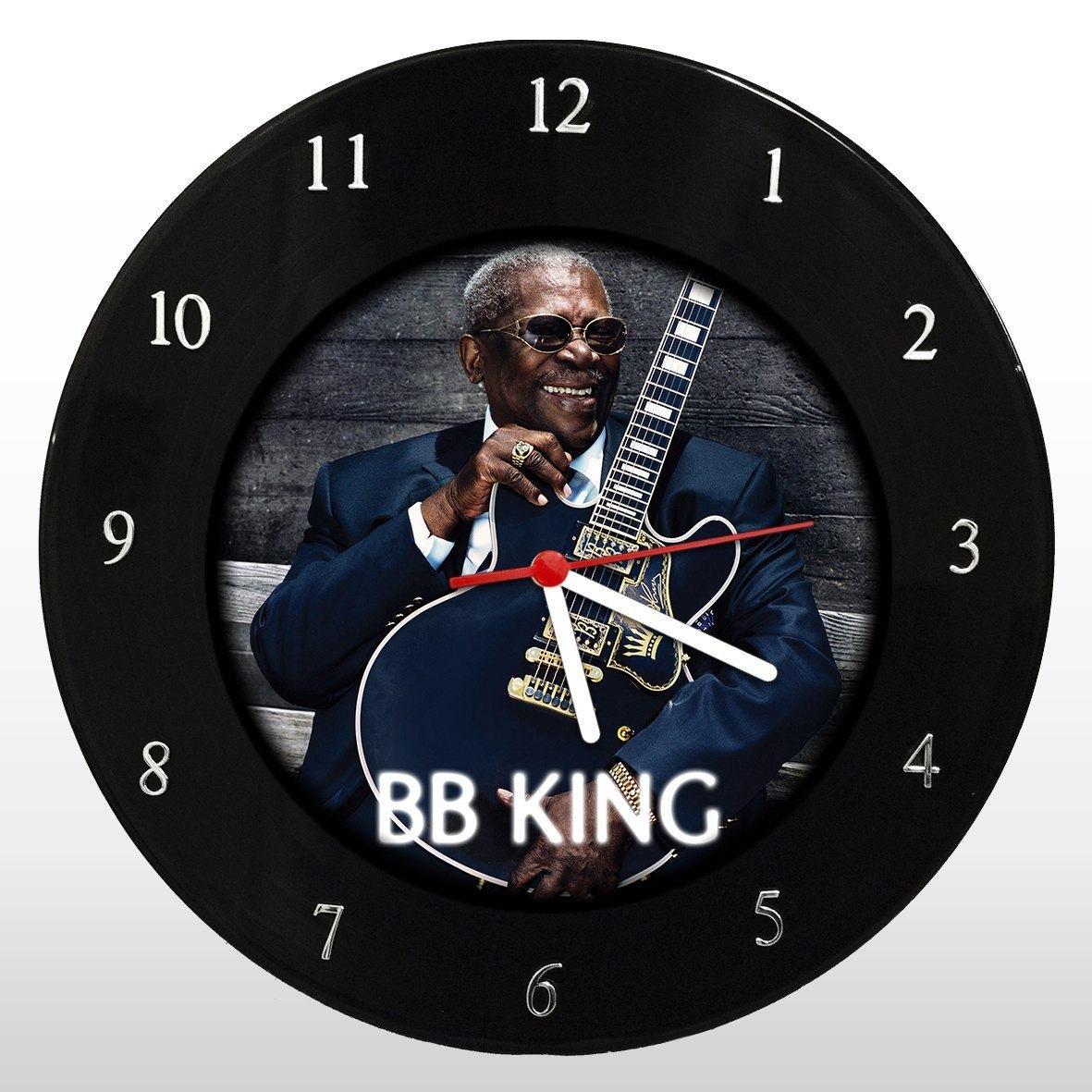 B. B. King - Relógio de Parede em Disco de Vinil - Mr. Rock