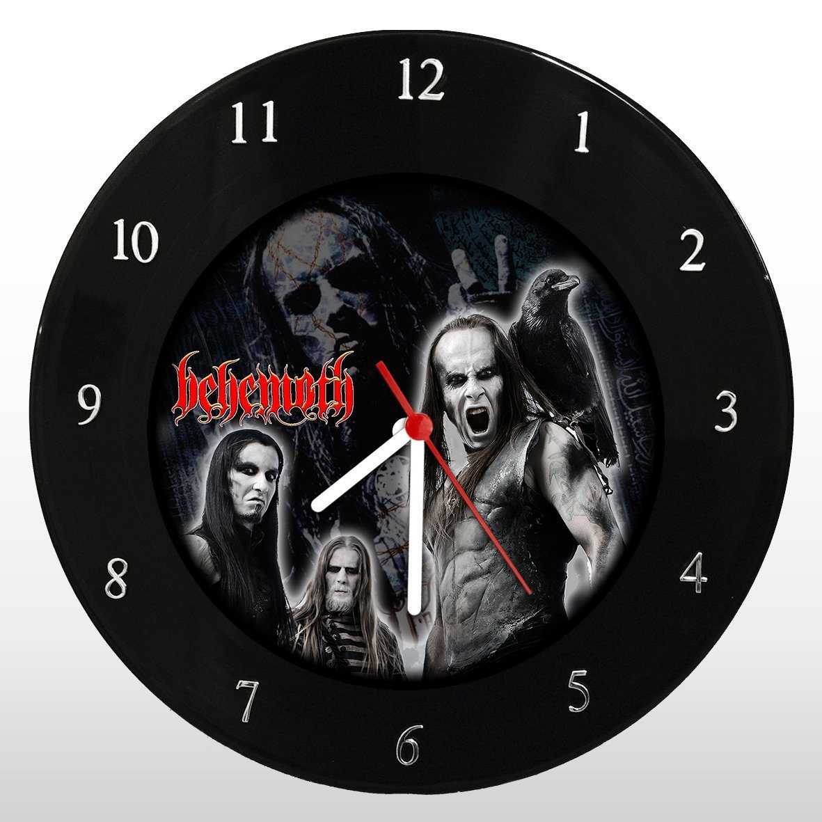 Behemoth - Relógio de Parede em Disco de Vinil - Mr. Rock
