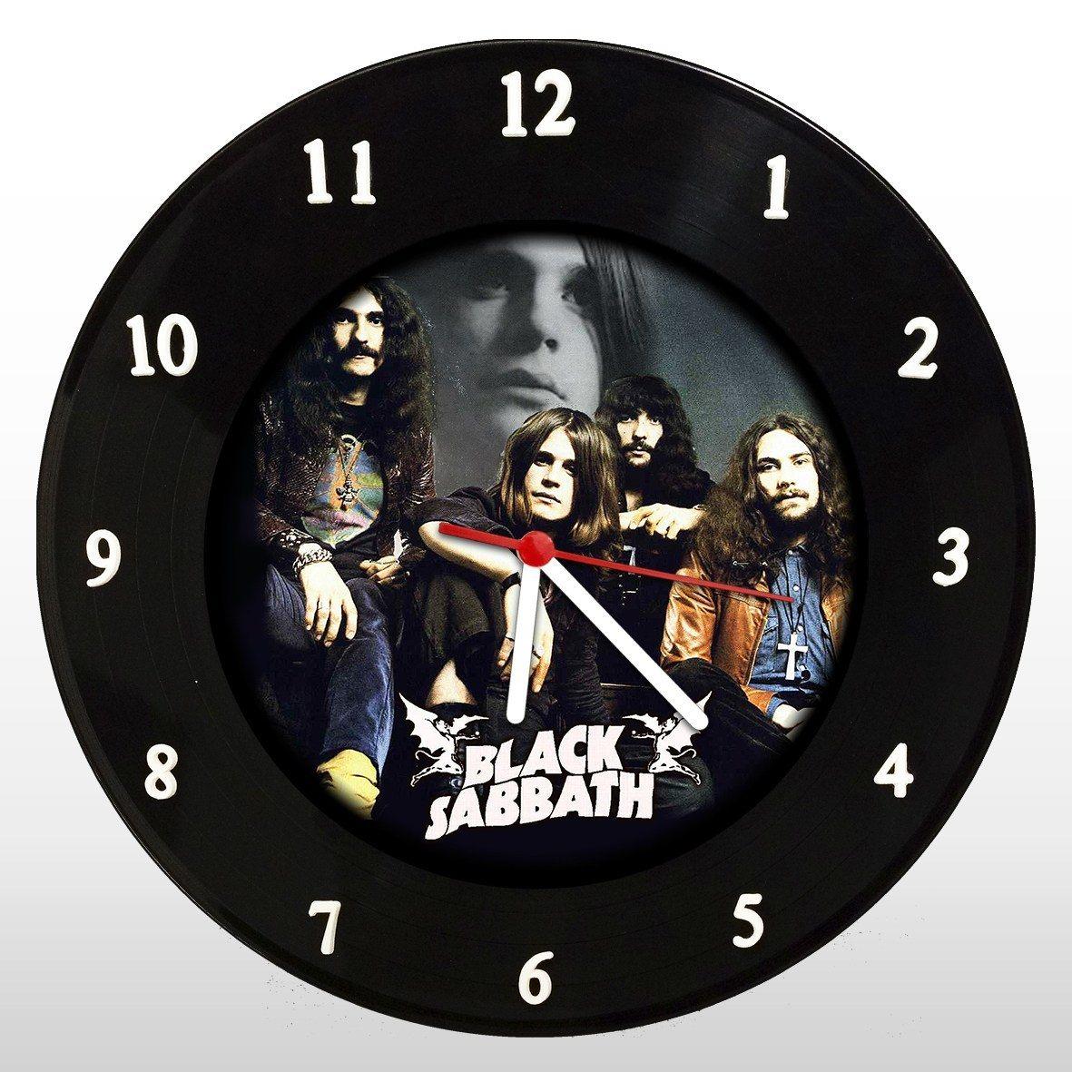 Black Sabbath - Relógio de Parede em Disco de Vinil - Mr. Rock