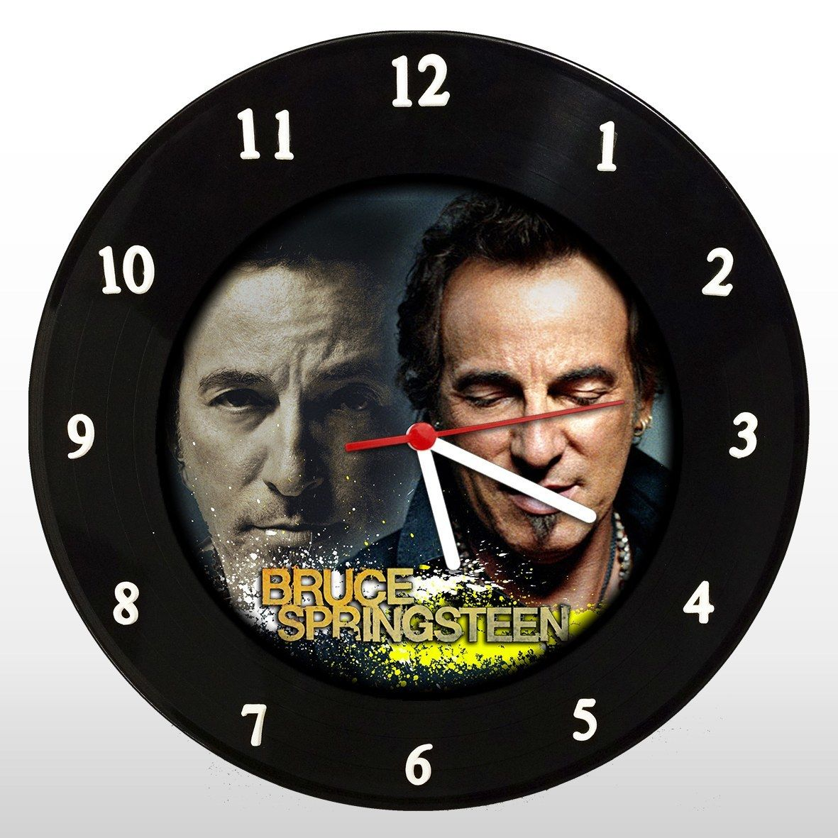Bruce Springsteen - Relógio de Parede em Disco de Vinil - Mr. Rock