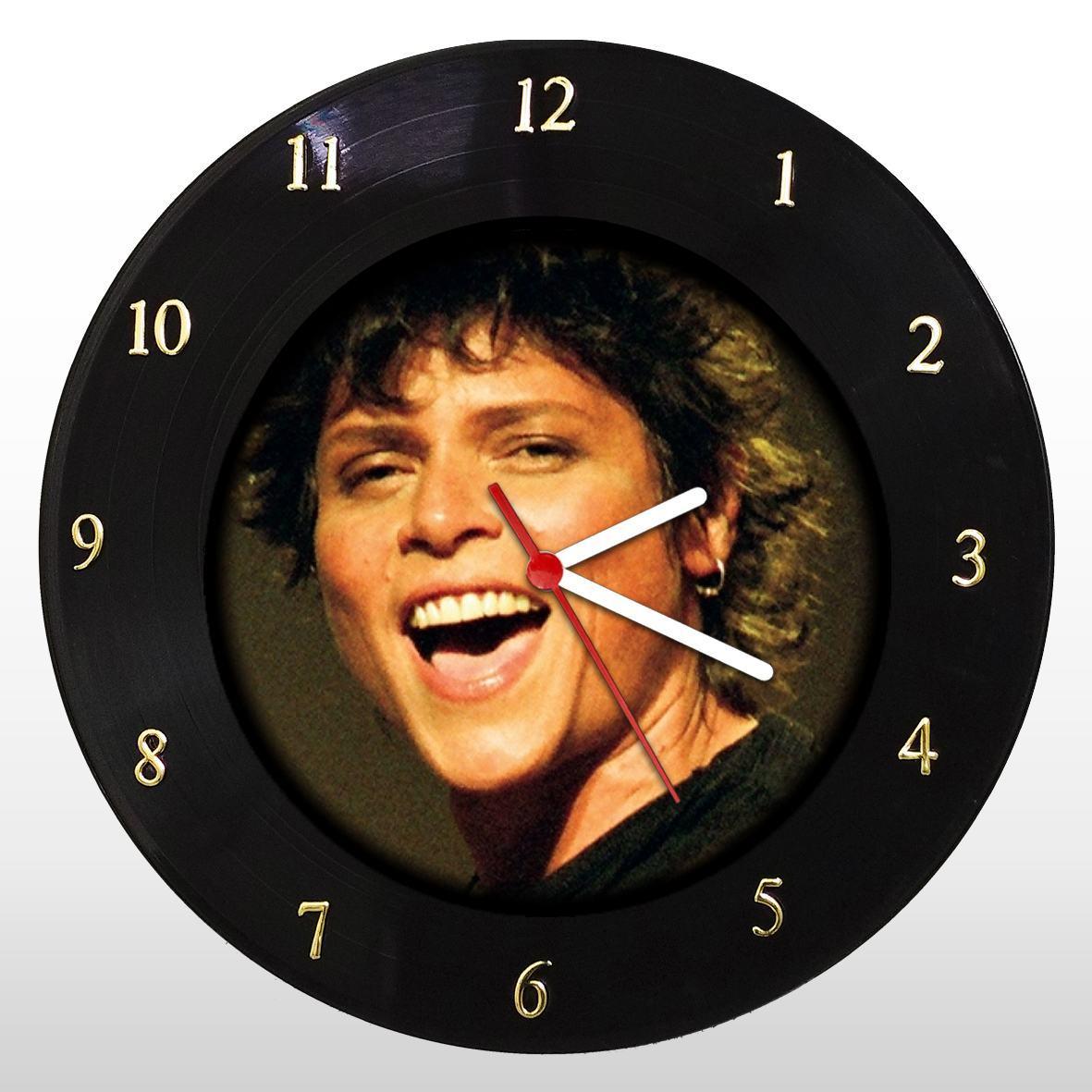 Cássia Eller - Relógio de Parede em Disco de Vinil - Mr. Rock