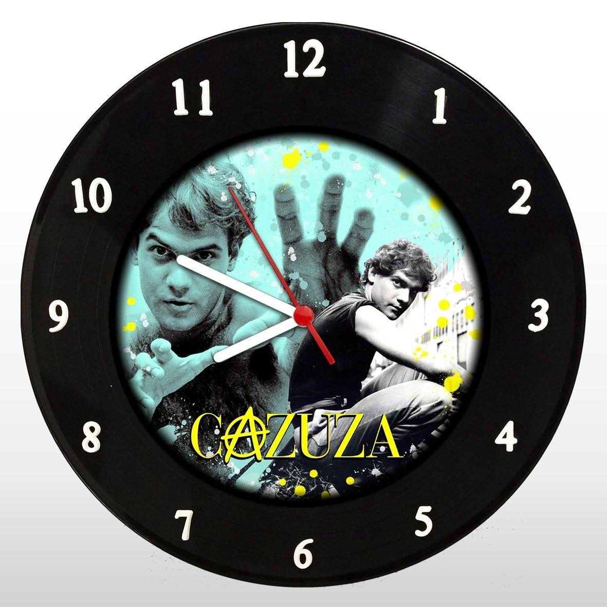 Cazuza - Relógio de Parede em Disco de Vinil - Mr. Rock