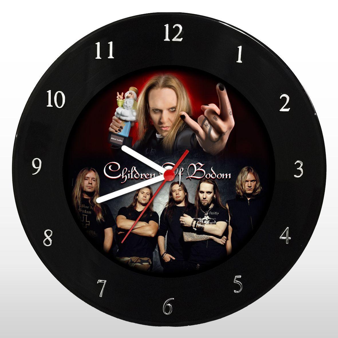 Children of Bodom - Relógio de Parede em Disco de Vinil - Mr. Rock